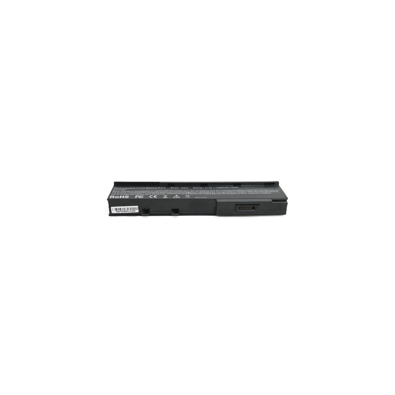 Аккумулятор для ноутбука Acer Aspire 5550 (BTP-AQJ1) 5200 mAh EXTRADIGITAL (BNA3913) изображение 4