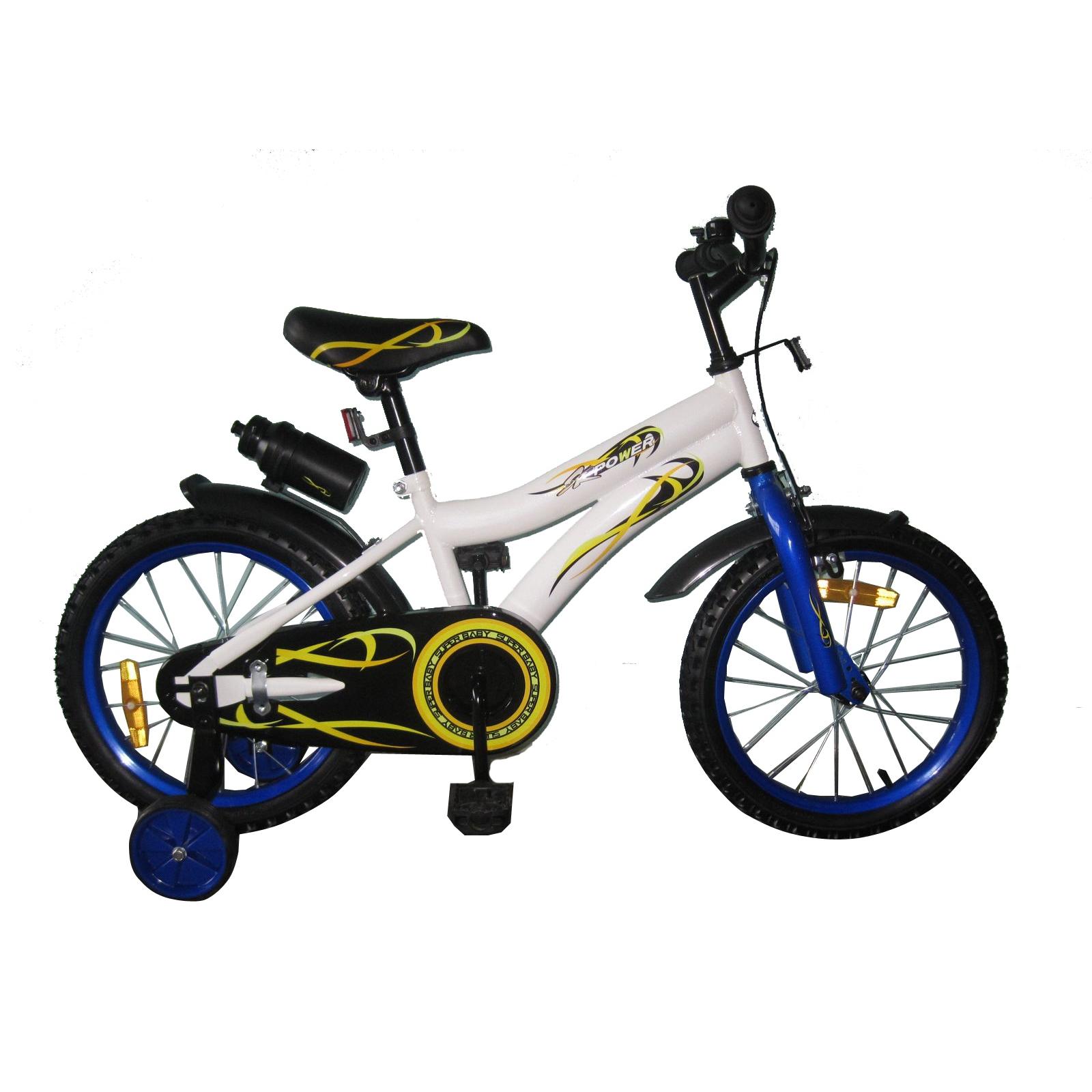Детский велосипед BabyHit Swallow White with Blue (10170)