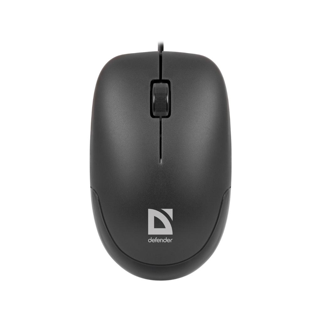 Мышка Defender Datum MM-010 Black (52010) изображение 2