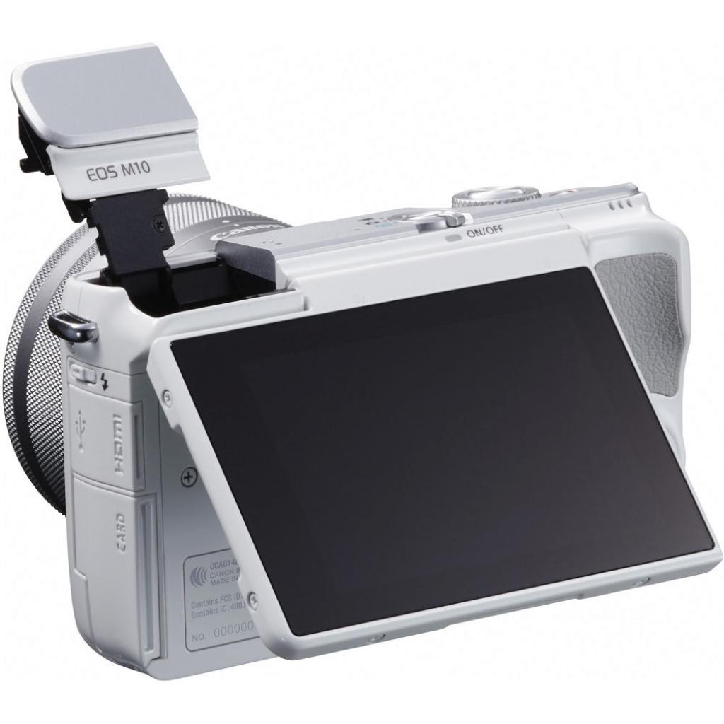 Цифровой фотоаппарат Canon EOS M10 15-45 IS STM White Kit (0922C040) изображение 10