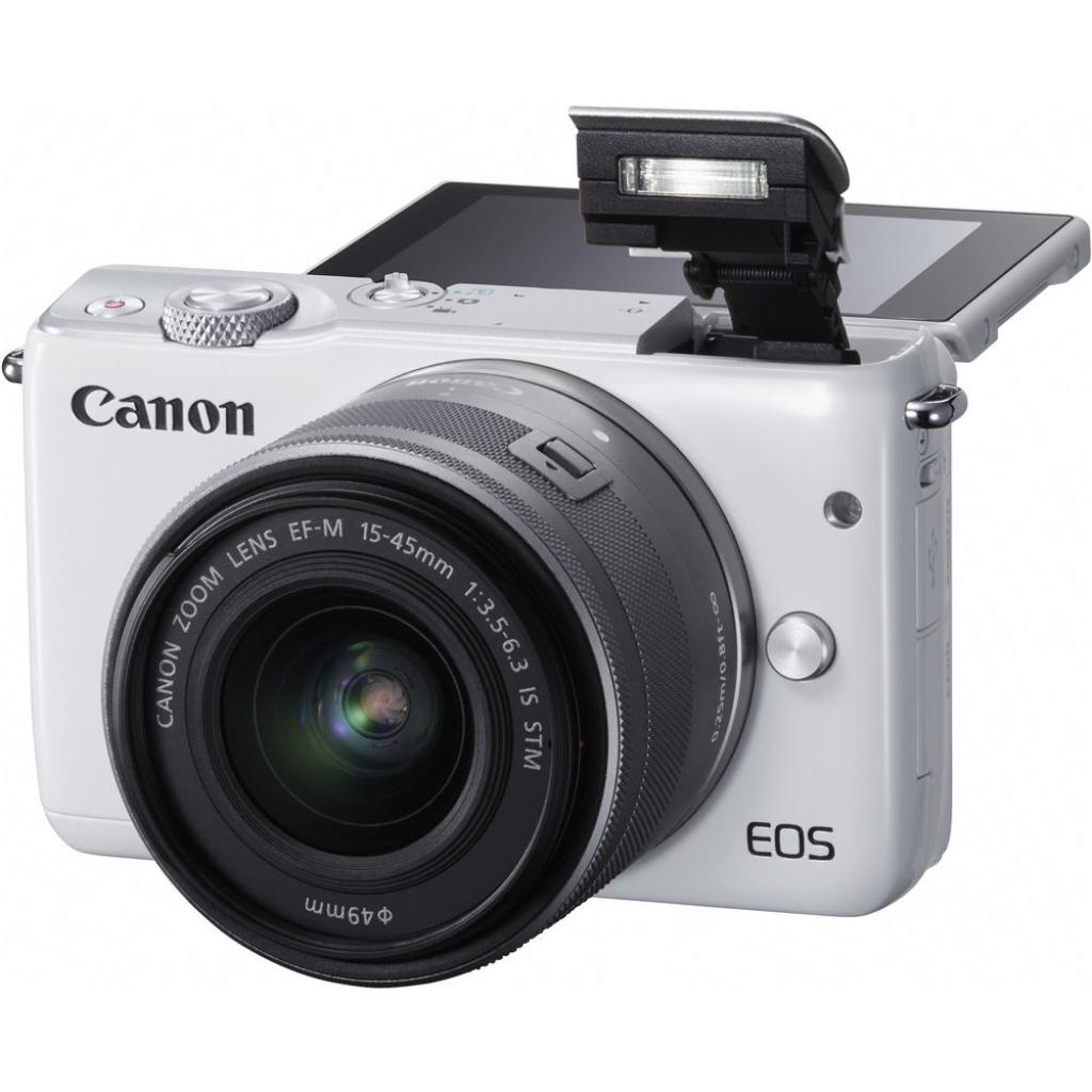 Цифровой фотоаппарат Canon EOS M10 15-45 IS STM White Kit (0922C040) изображение 11