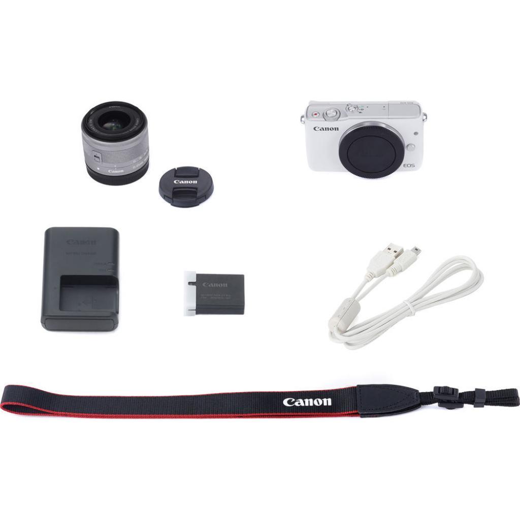 Цифровой фотоаппарат Canon EOS M10 15-45 IS STM White Kit (0922C040) изображение 12