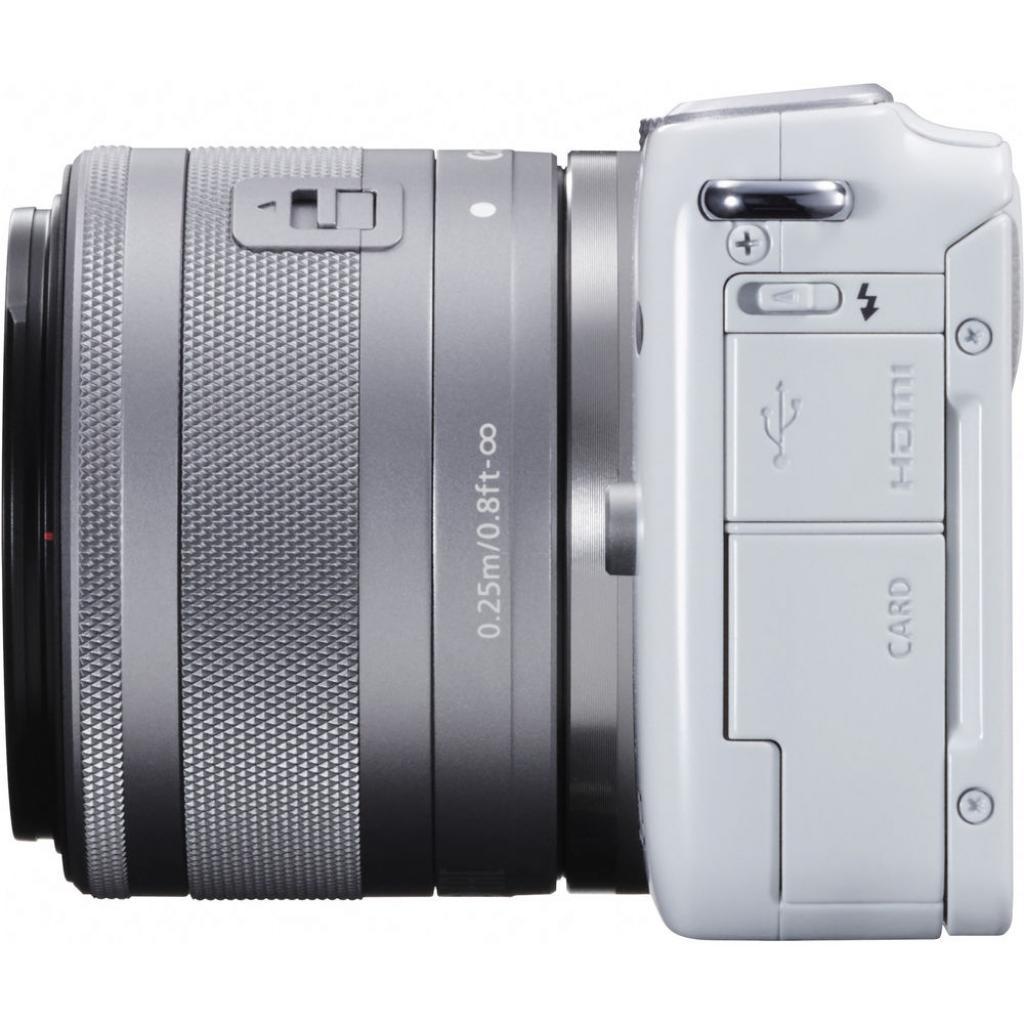 Цифровой фотоаппарат Canon EOS M10 15-45 IS STM White Kit (0922C040) изображение 5