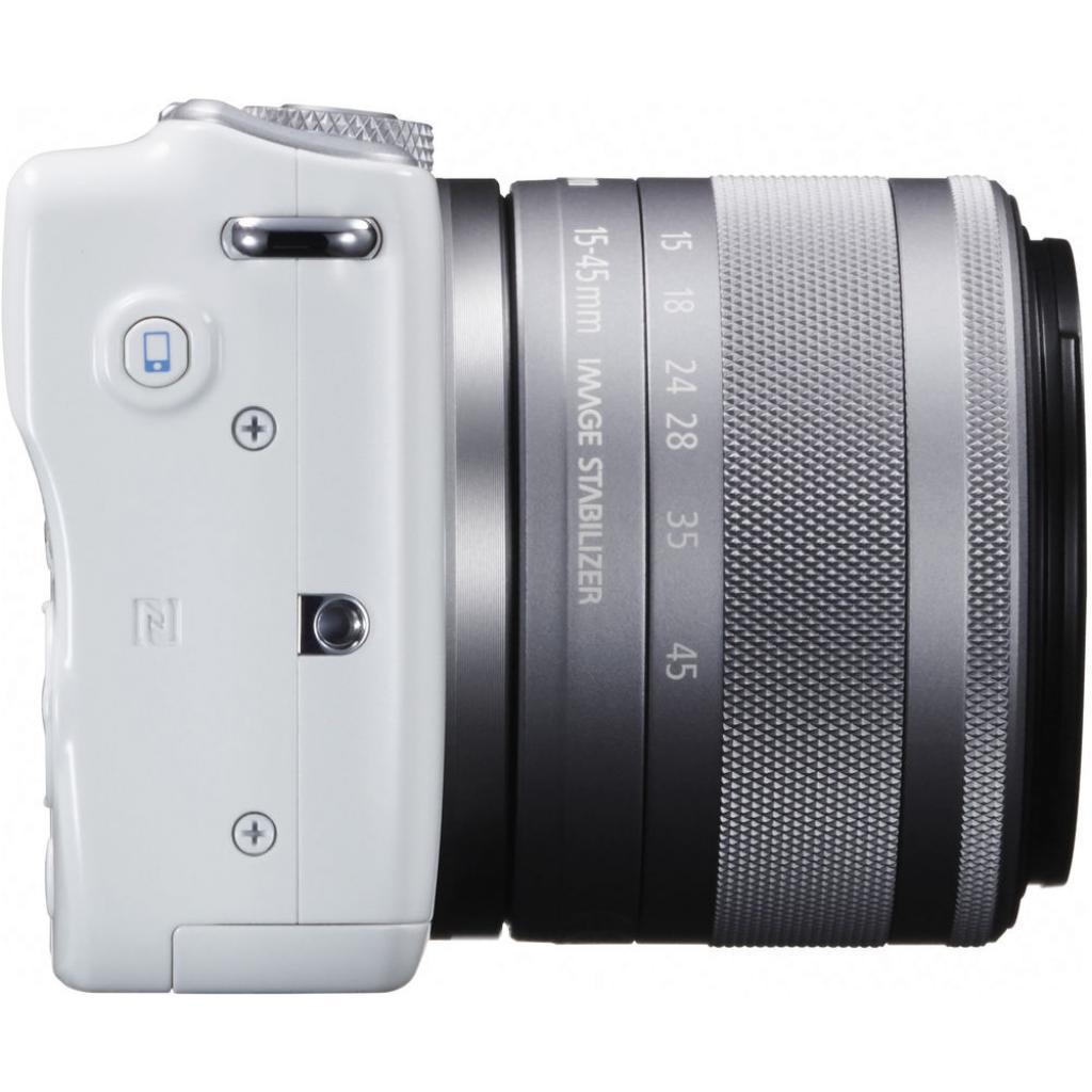 Цифровой фотоаппарат Canon EOS M10 15-45 IS STM White Kit (0922C040) изображение 6