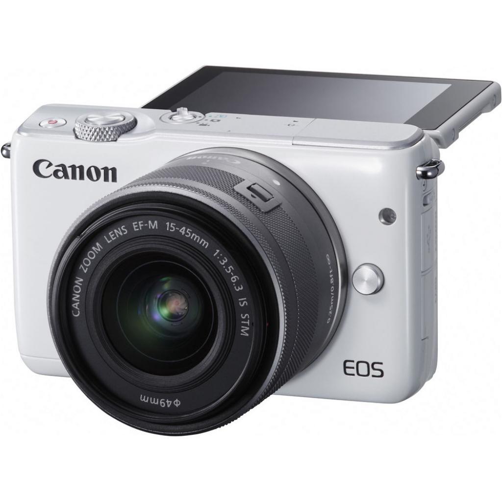 Цифровой фотоаппарат Canon EOS M10 15-45 IS STM White Kit (0922C040) изображение 7