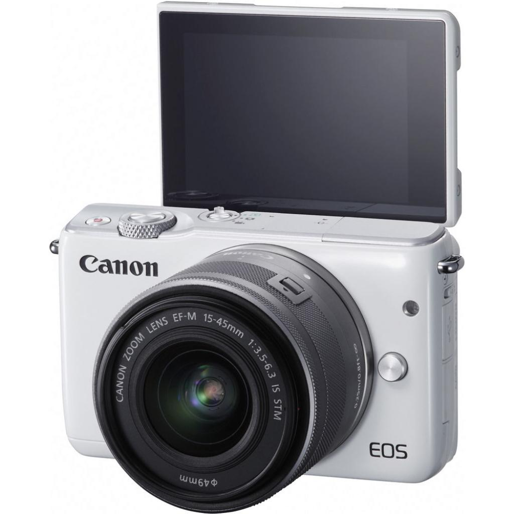 Цифровой фотоаппарат Canon EOS M10 15-45 IS STM White Kit (0922C040) изображение 8