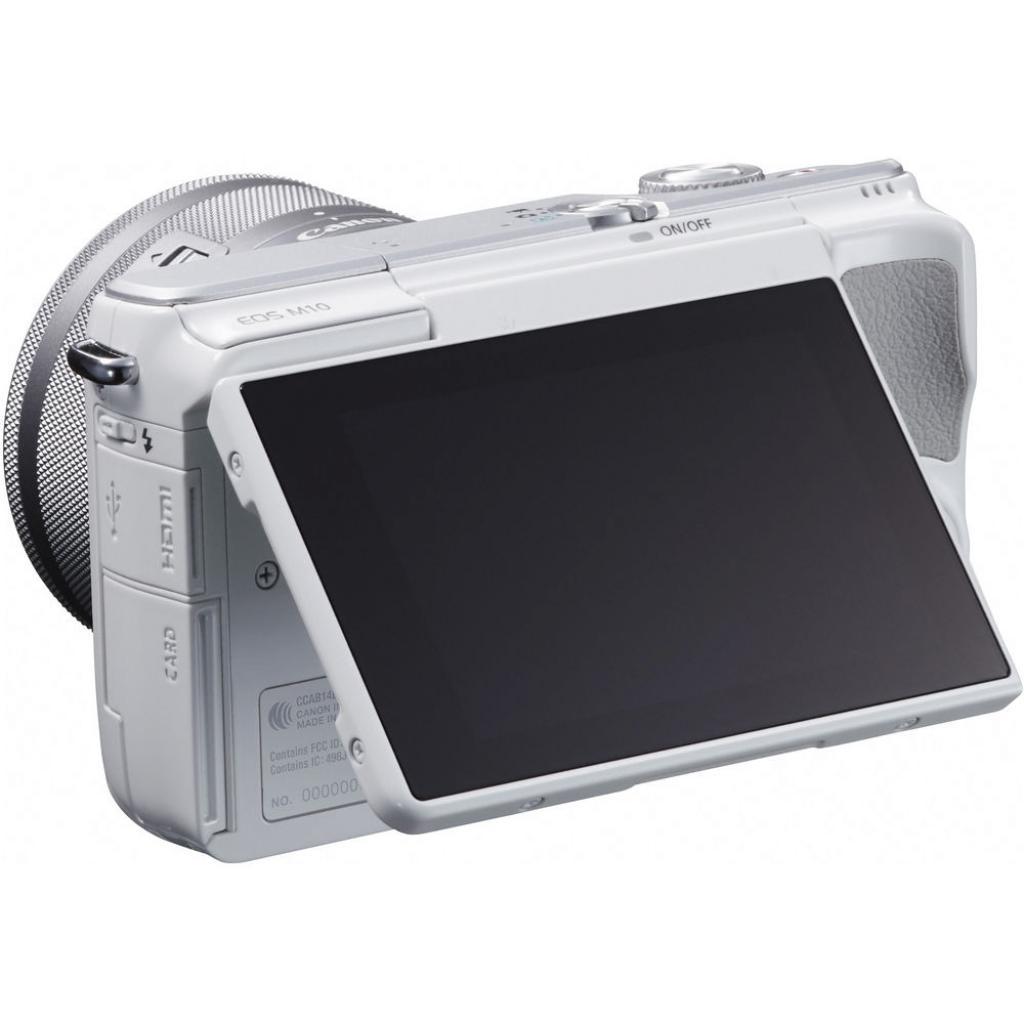 Цифровой фотоаппарат Canon EOS M10 15-45 IS STM White Kit (0922C040) изображение 9