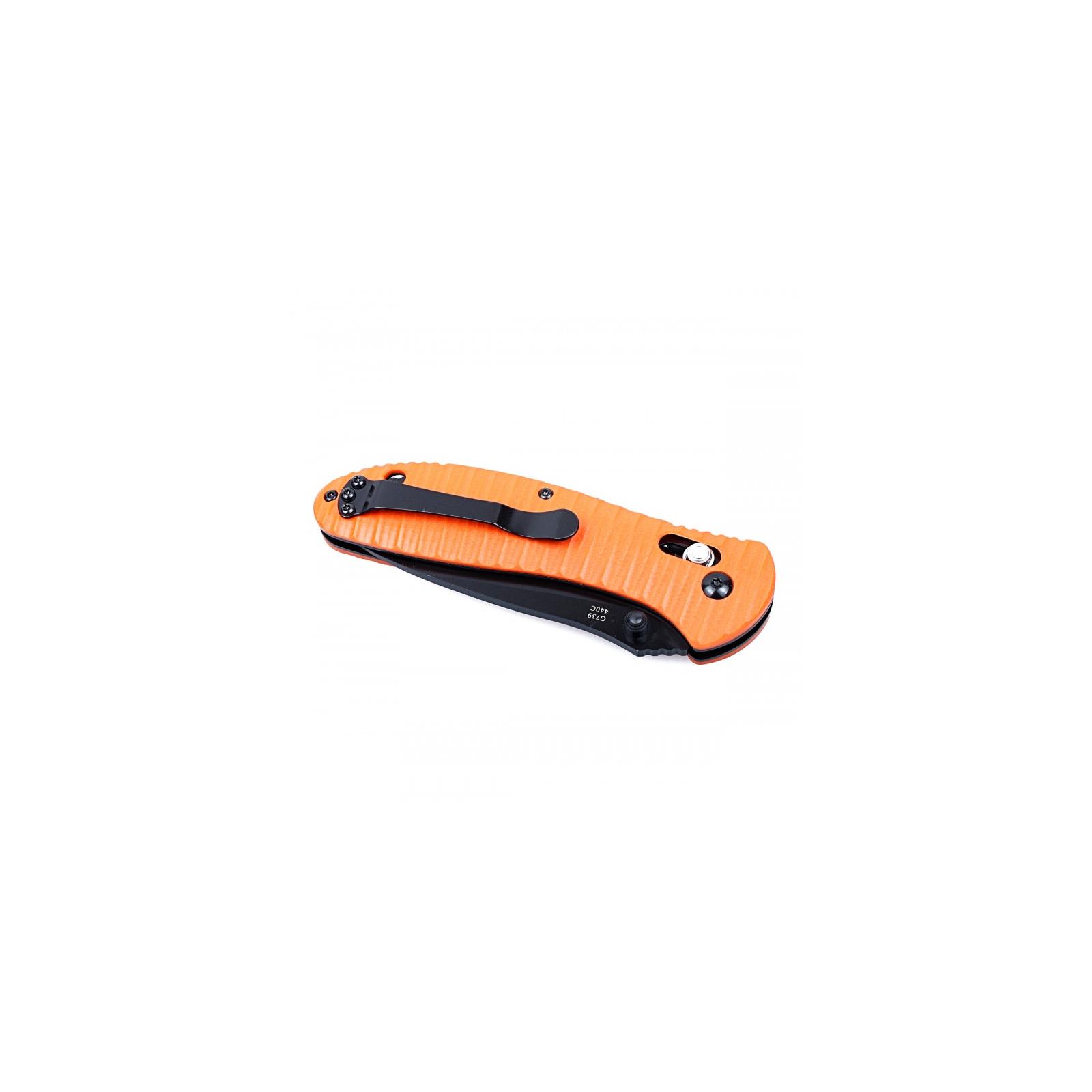 Нож Ganzo G7392P оранжевый (G7392P-OR) изображение 4