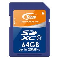 Карта памяти Team 64GB SDXC class 10 (TSDXC64GCL1001)