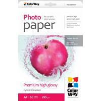 Бумага ColorWay Letter (216x279mm) Premium High glossy (PSG255050LT)