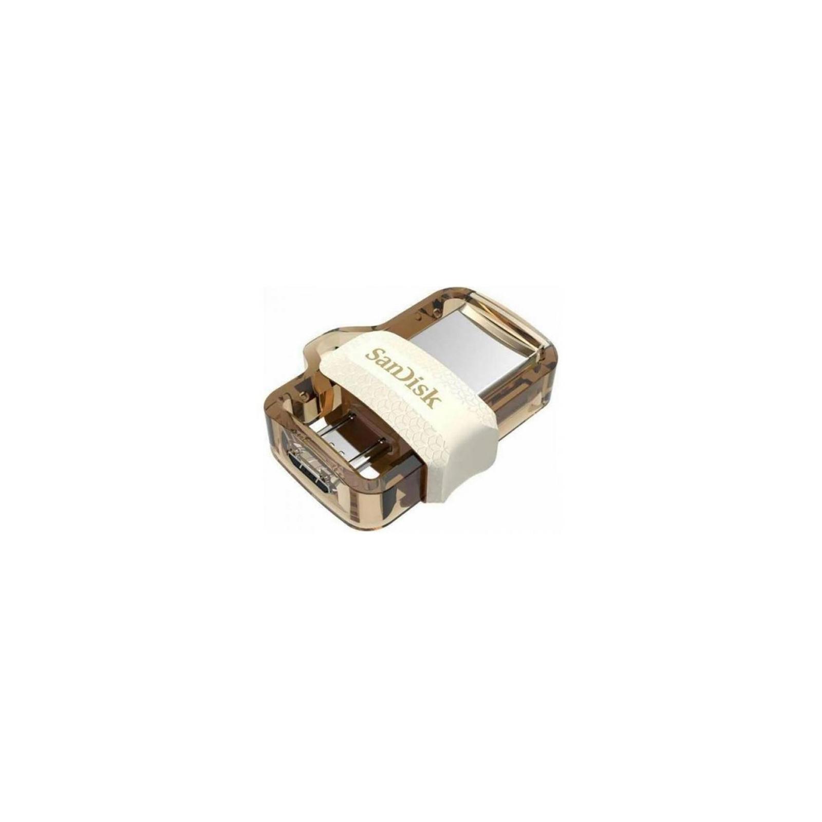 USB флеш накопитель SanDisk 128GB Ultra Dual Drive M3.0 USB 3.0 (SDDD3-128G-G46) изображение 2