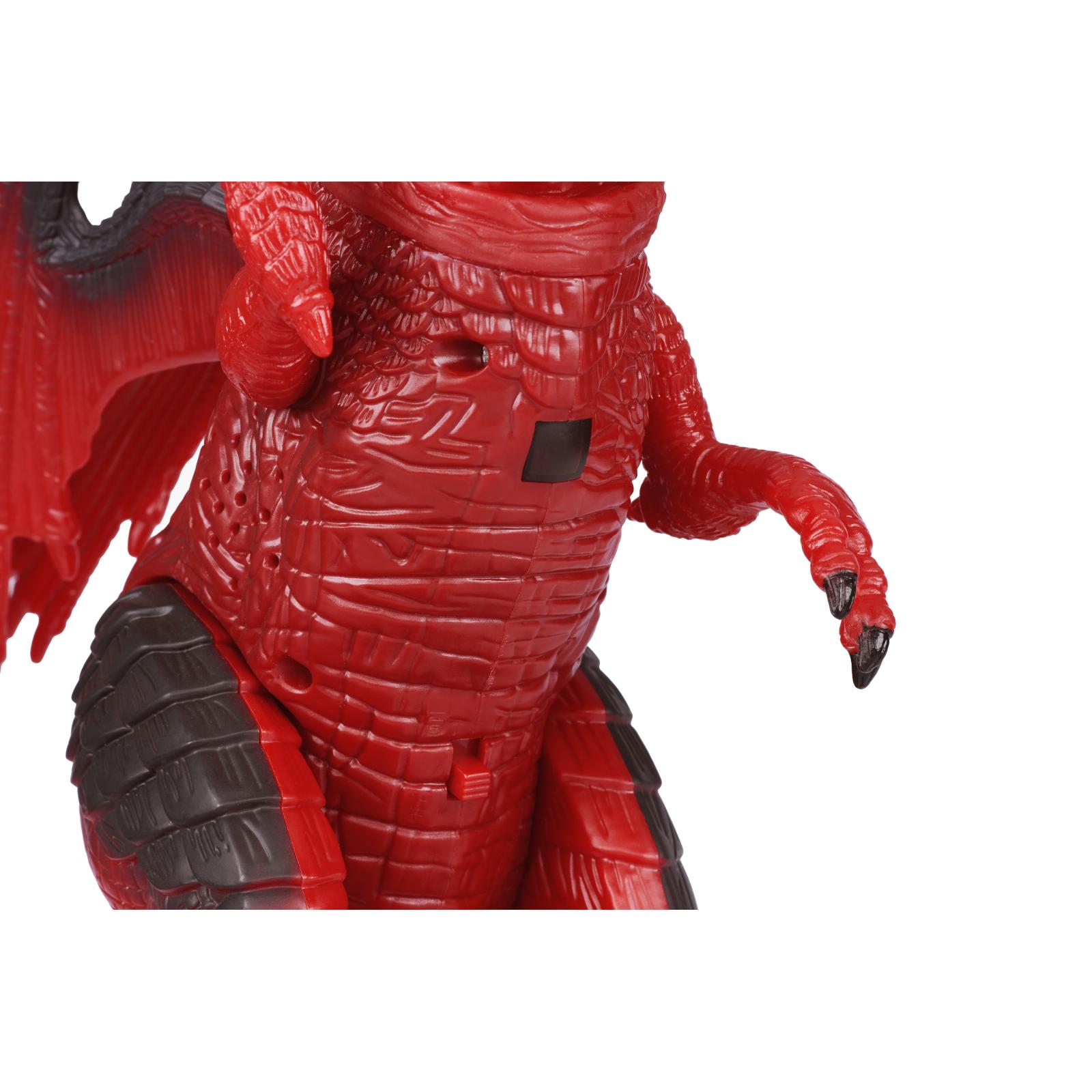 Интерактивная игрушка Same Toy Динозавр Dinosaur Planet Дракон красный со светом и звуком (RS6139Ut) изображение 10
