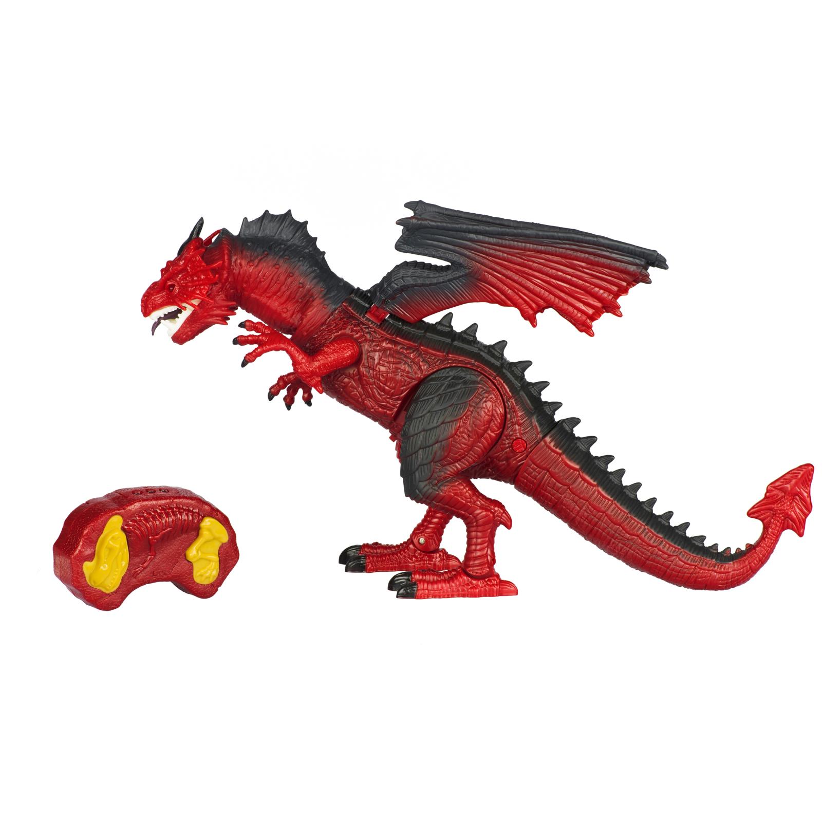 Интерактивная игрушка Same Toy Динозавр Dinosaur Planet Дракон красный со светом и звуком (RS6139Ut) изображение 11