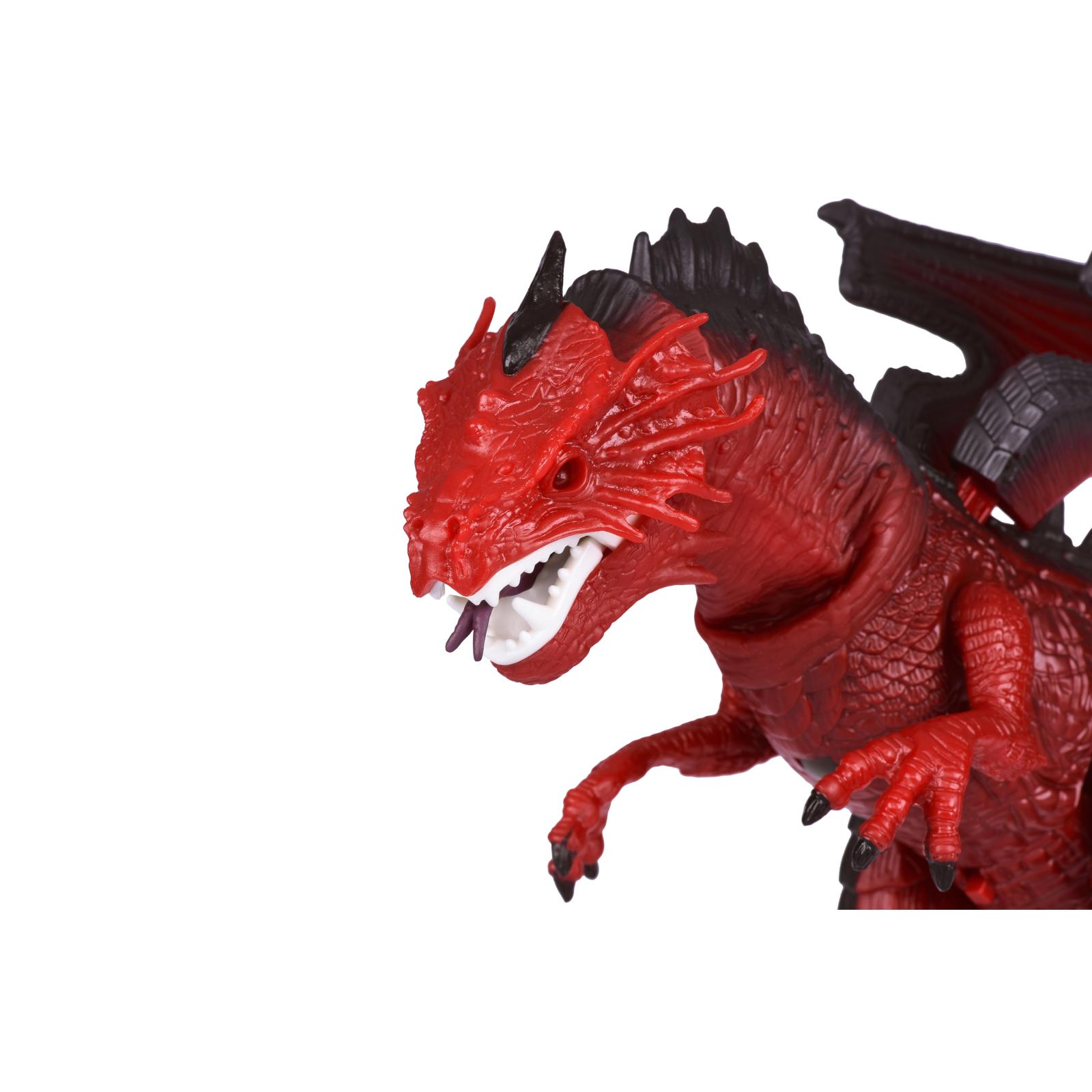 Интерактивная игрушка Same Toy Динозавр Dinosaur Planet Дракон красный со светом и звуком (RS6139Ut) изображение 2