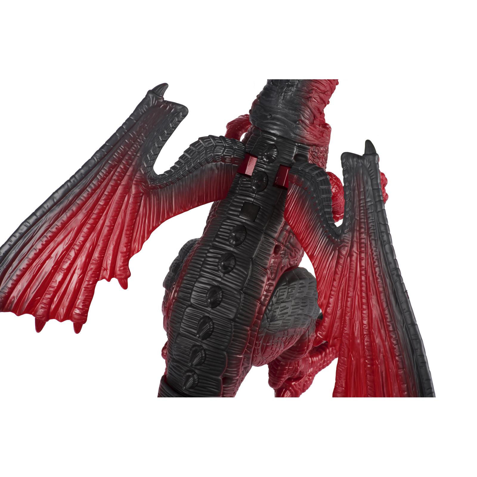 Интерактивная игрушка Same Toy Динозавр Dinosaur Planet Дракон красный со светом и звуком (RS6139Ut) изображение 7
