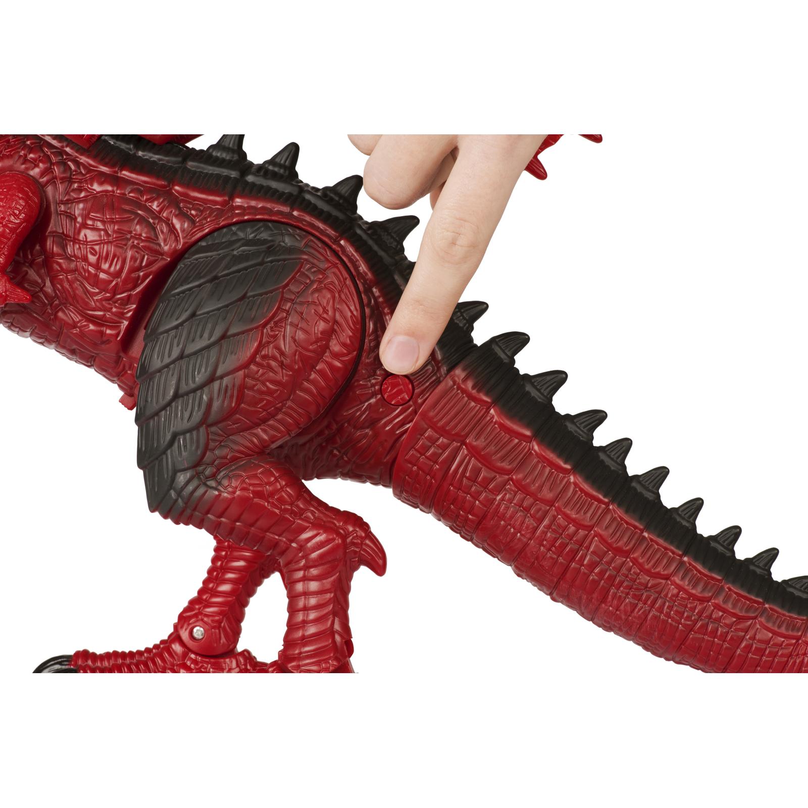 Интерактивная игрушка Same Toy Динозавр Dinosaur Planet Дракон красный со светом и звуком (RS6139Ut) изображение 8