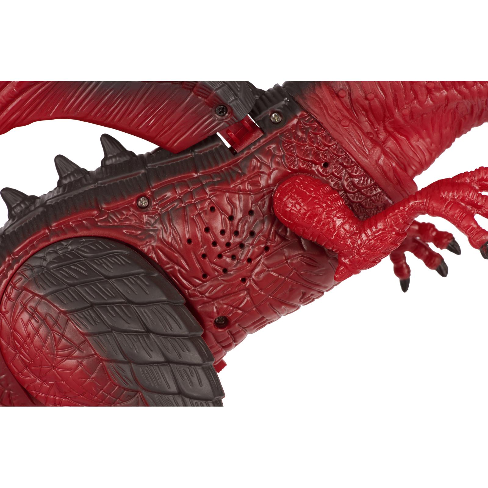 Интерактивная игрушка Same Toy Динозавр Dinosaur Planet Дракон красный со светом и звуком (RS6139Ut) изображение 9