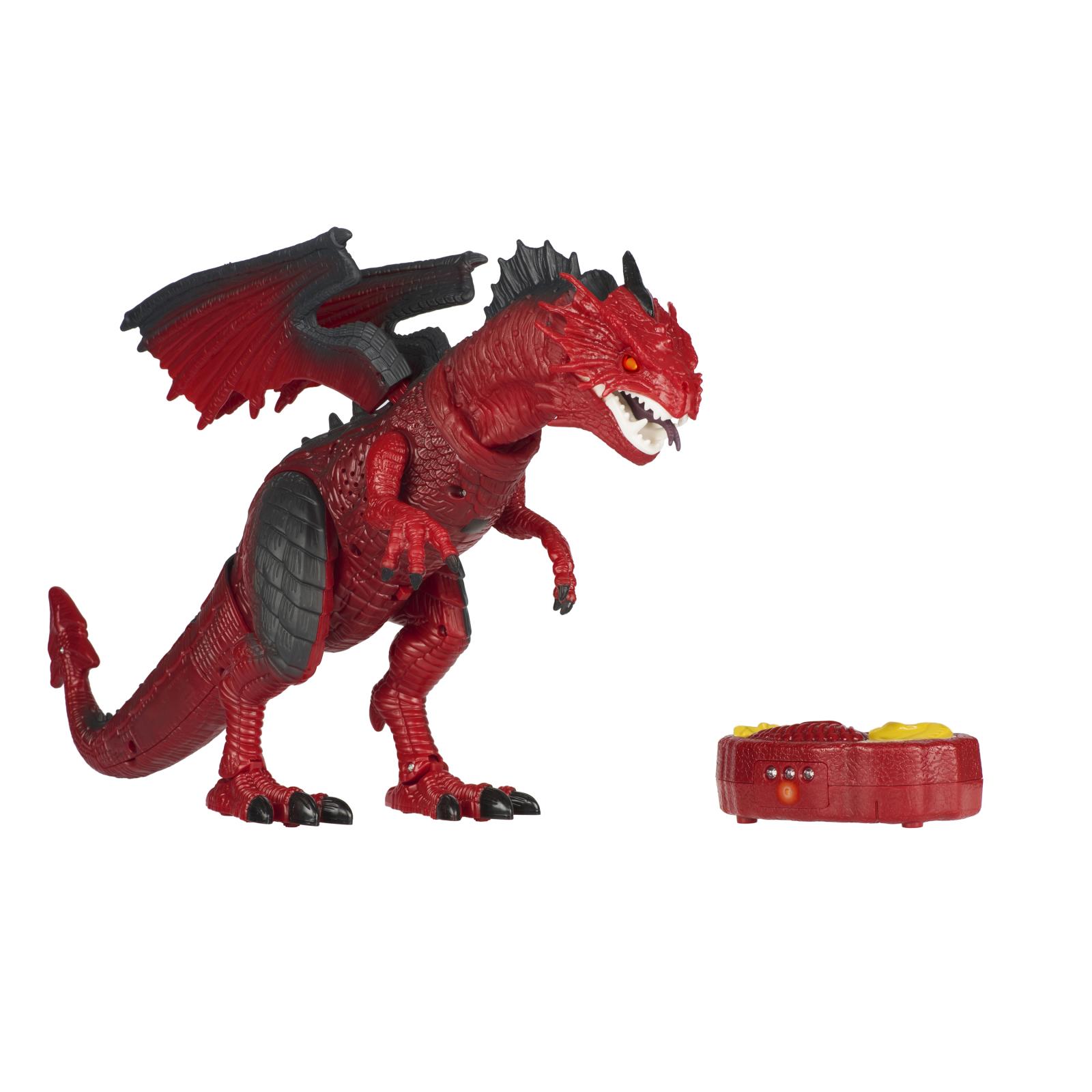 Интерактивная игрушка Same Toy Динозавр Dinosaur Planet Дракон красный со светом и звуком (RS6139Ut)