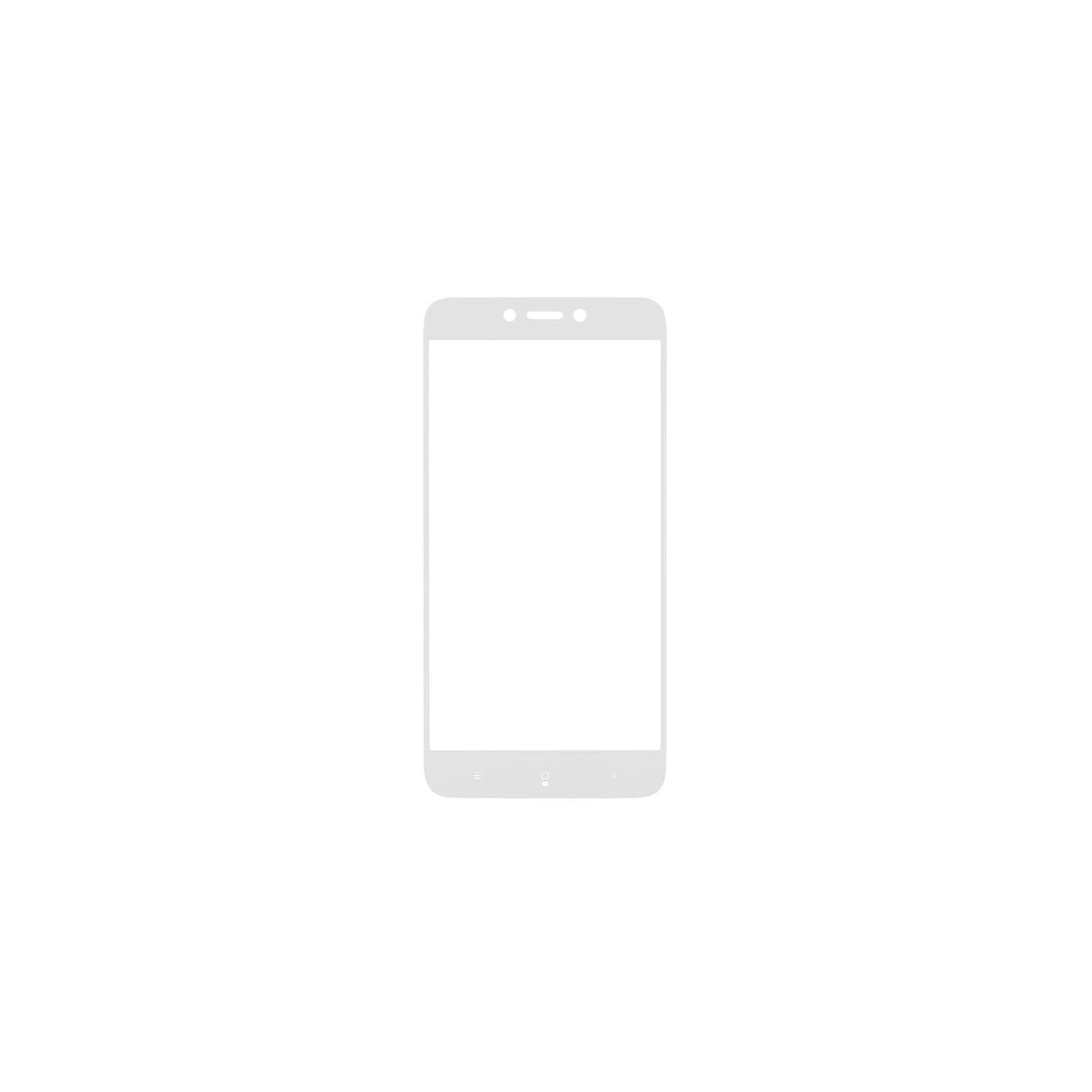 Стекло защитное MakeFuture для Xiaomi Redmi 5A White Full Cover Full Glue (MGFCFG-XR5AW) изображение 3