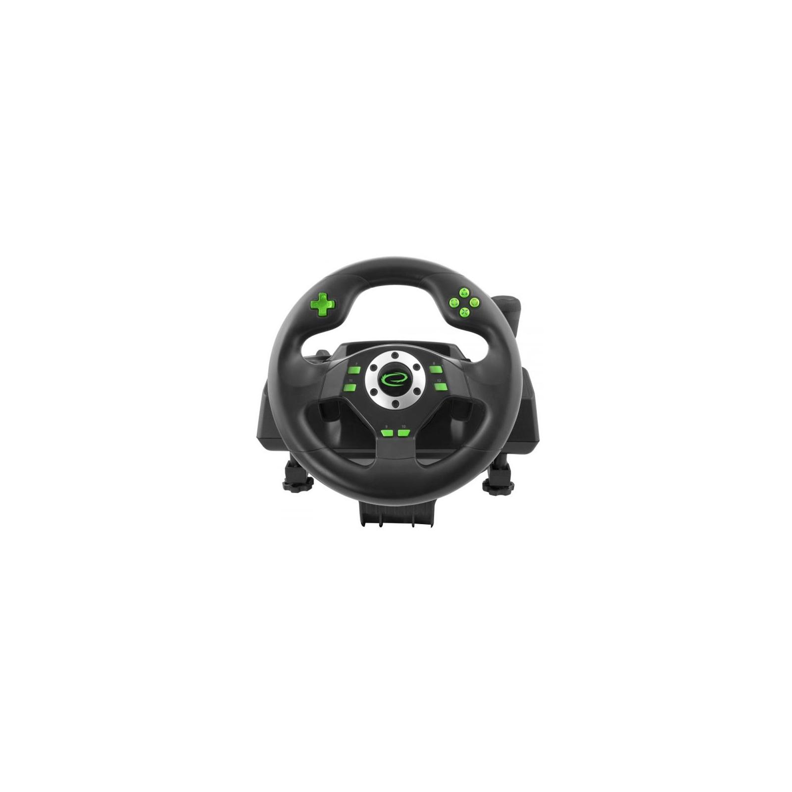 Руль Esperanza PC/PS3 Black-Green (EGW101) изображение 3