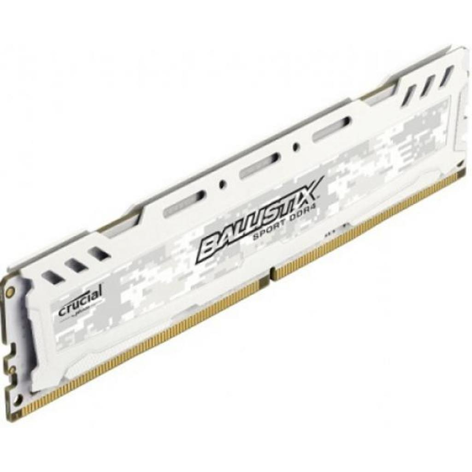 Модуль памяти для компьютера DDR4 8GB 2666 MHz Ballistix Sport LT White MICRON (BLS8G4D26BFSCK) изображение 2