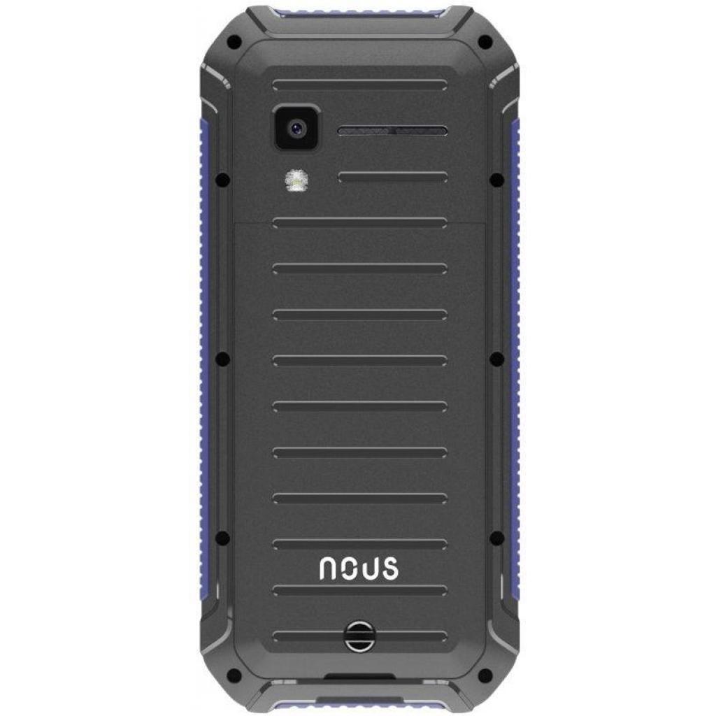 Мобильный телефон NOUS NS 2414 Hardy Black Blue изображение 2