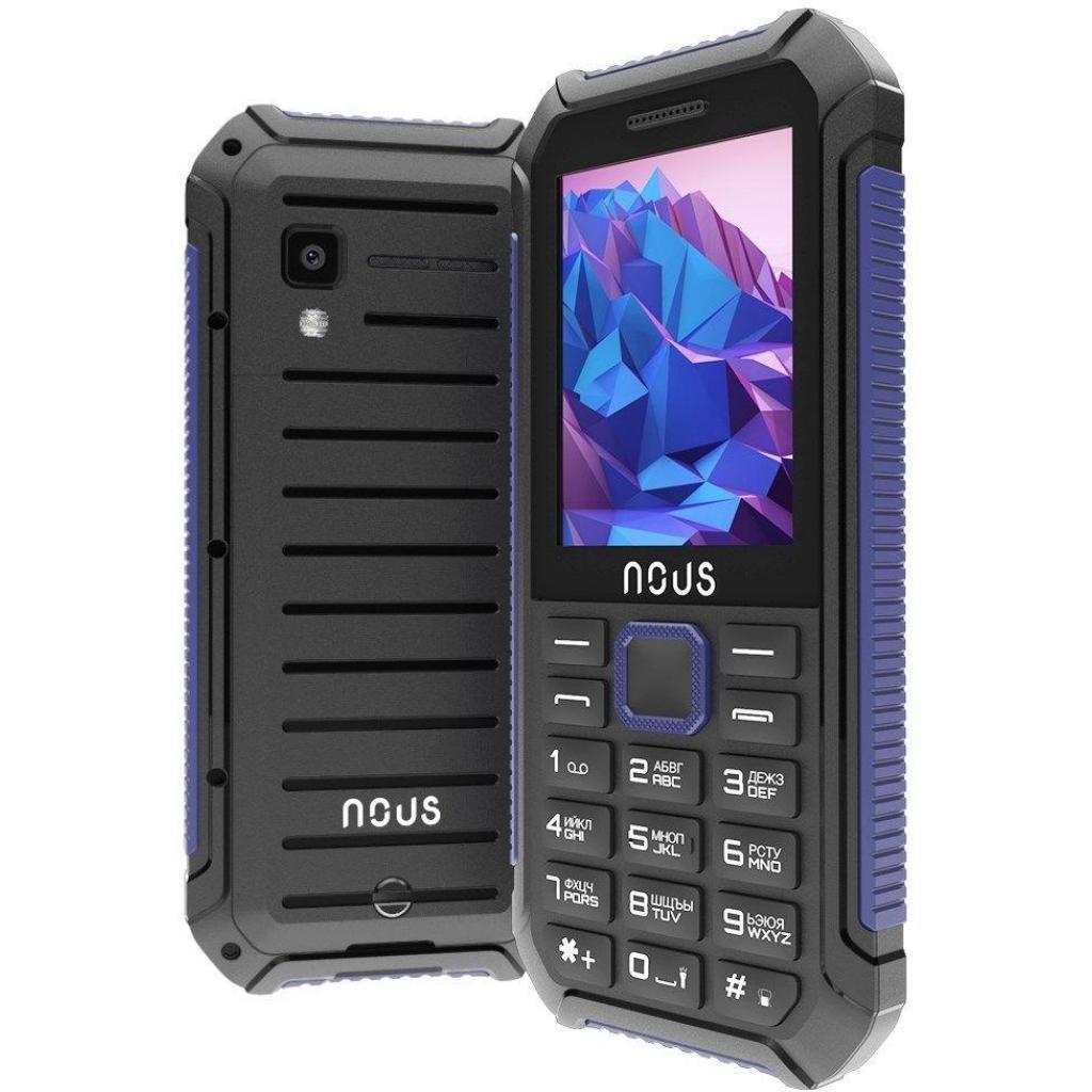 Мобильный телефон NOUS NS 2414 Hardy Black Blue изображение 3