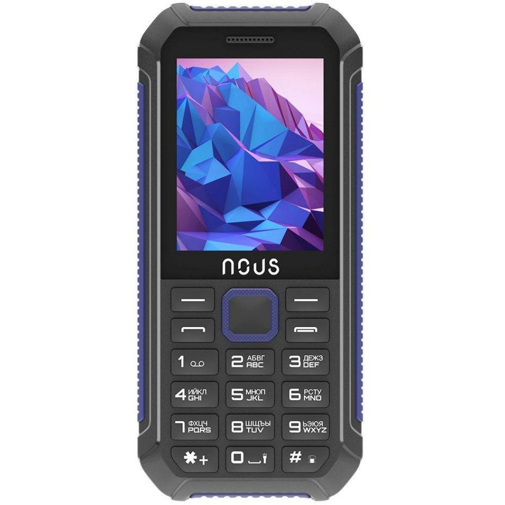 Мобильный телефон NOUS NS 2414 Hardy Black Blue