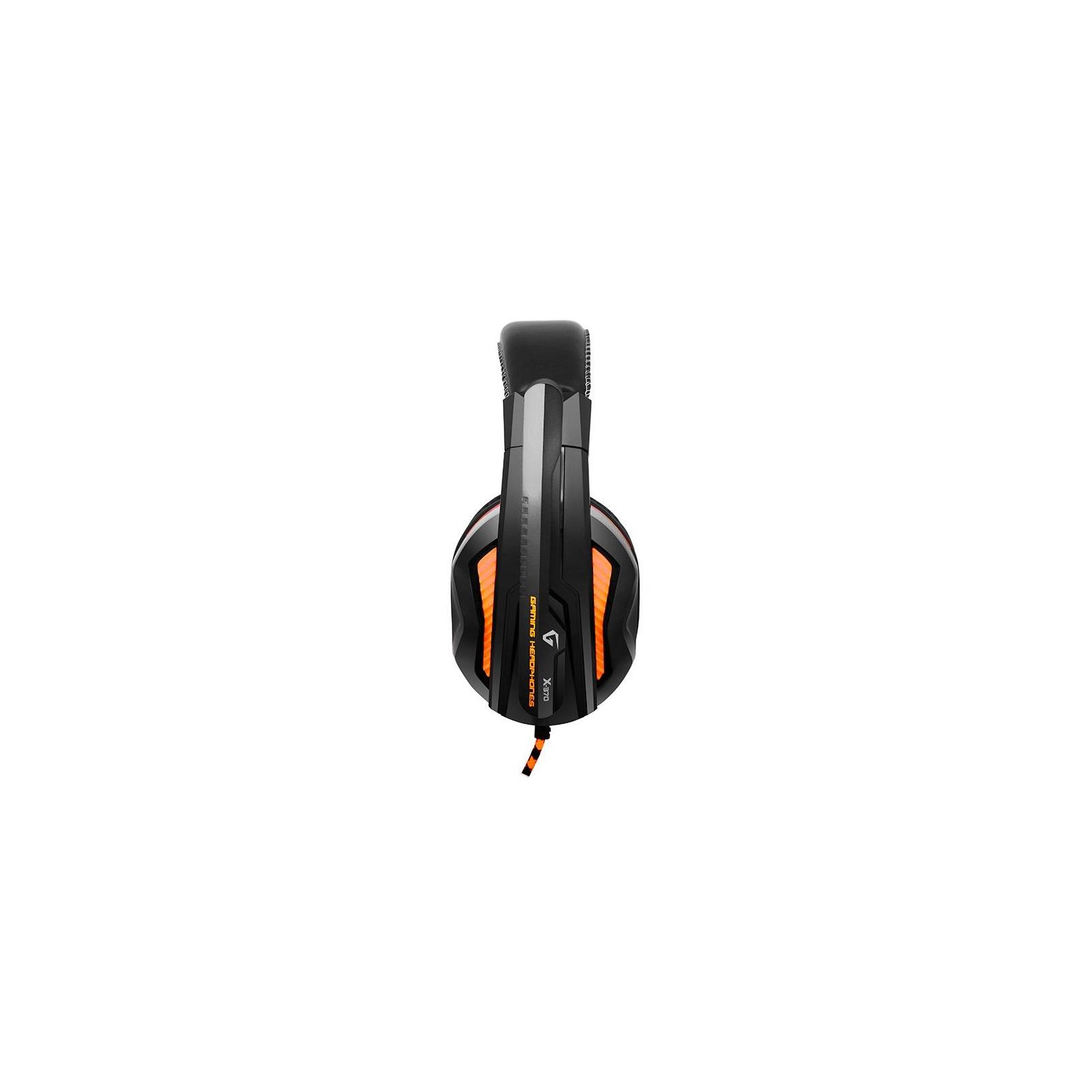 Наушники GEMIX X-370 black-orange изображение 2