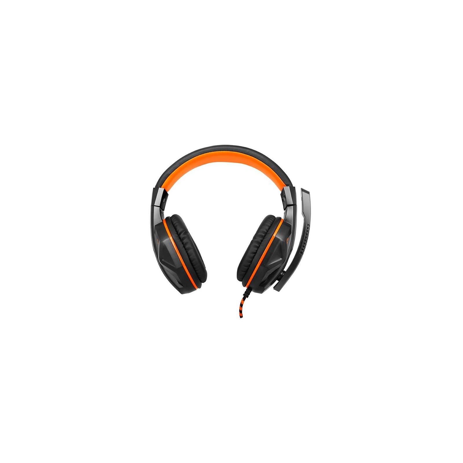 Наушники GEMIX X-370 black-orange изображение 3