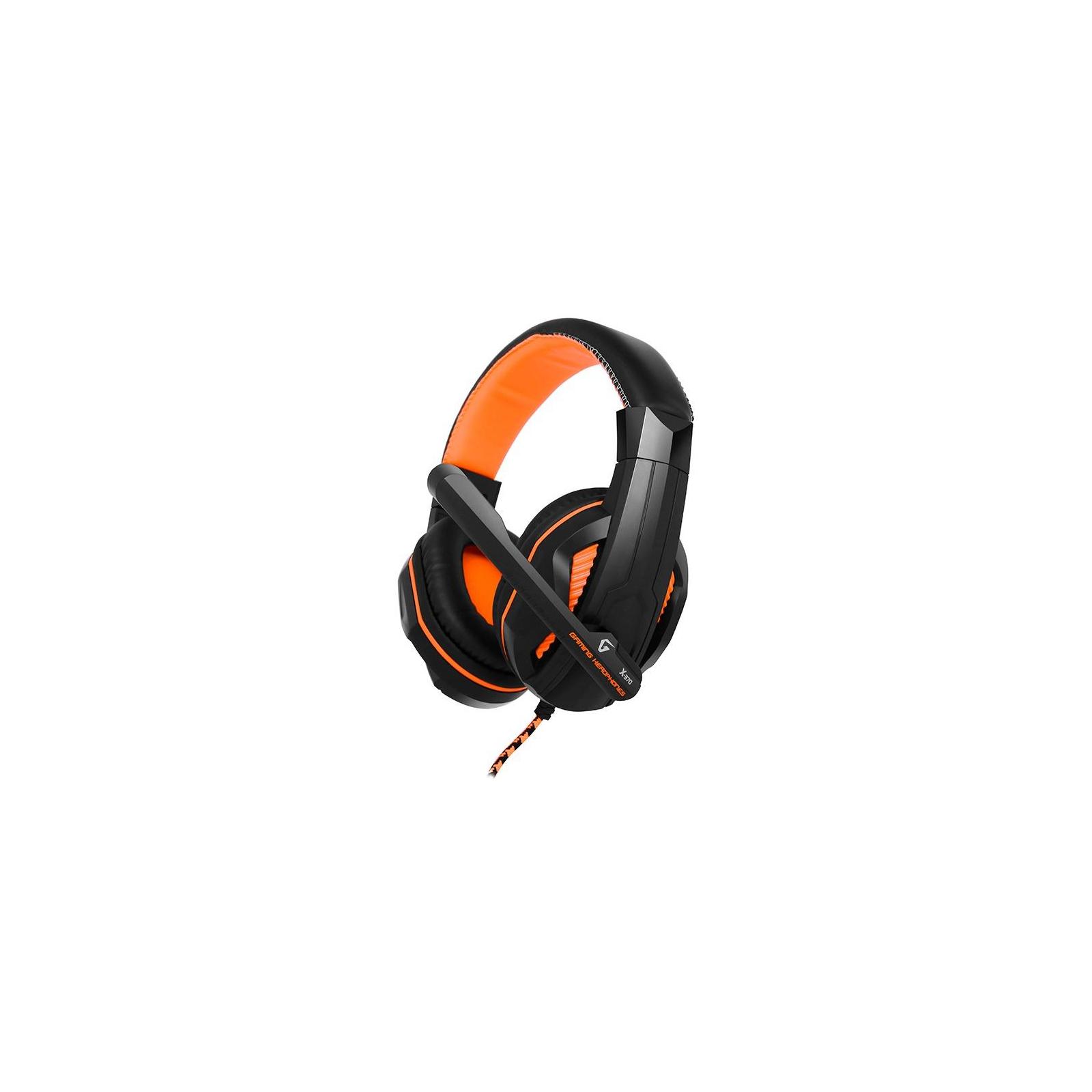 Наушники GEMIX X-370 black-orange