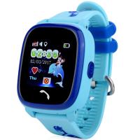 Смарт-часы UWatch DF25 Kids waterproof smart watch Blue (F52338) aea8a072a5751