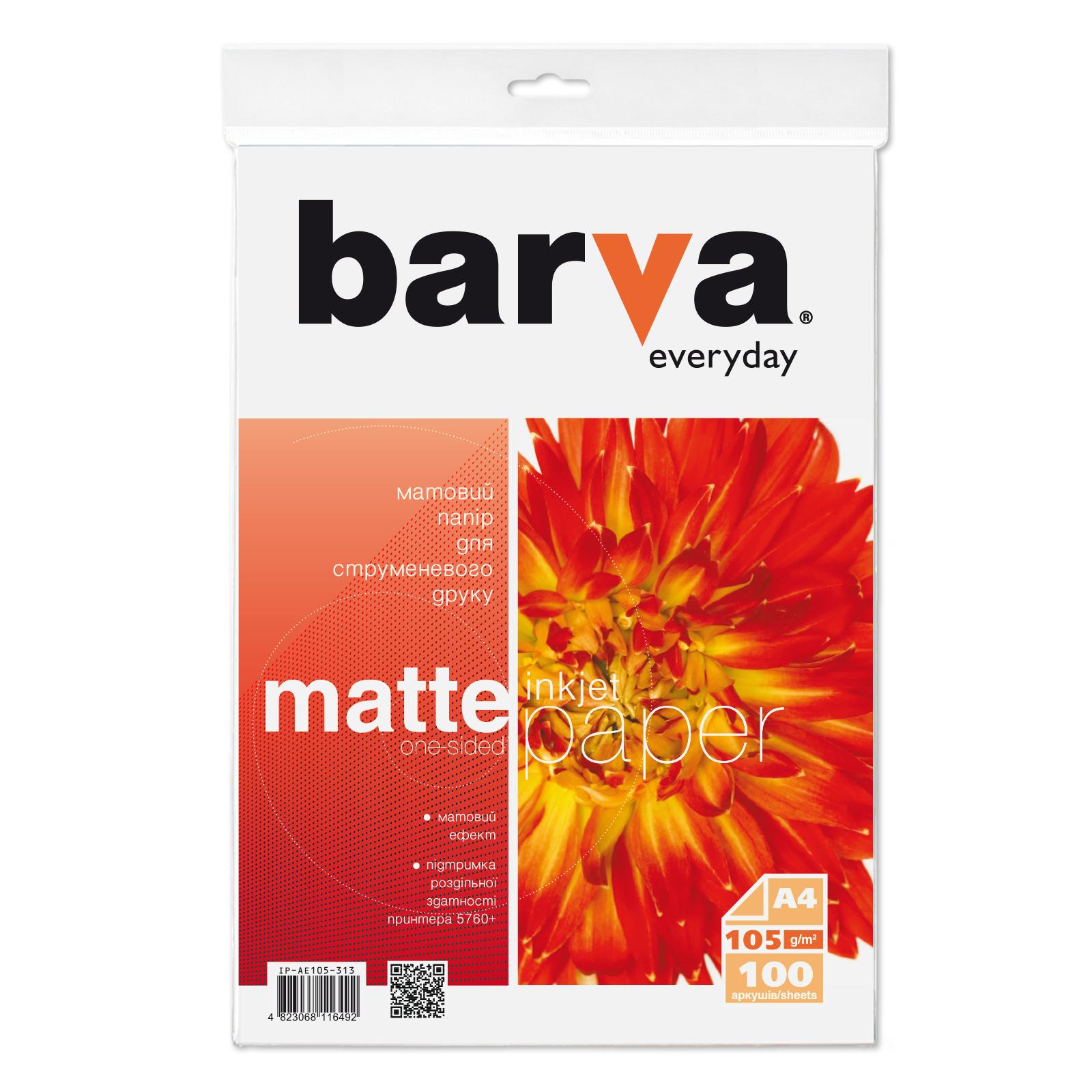 Бумага Barva A4 Everyday Matte 105г, 100л (IP-AE105-313)