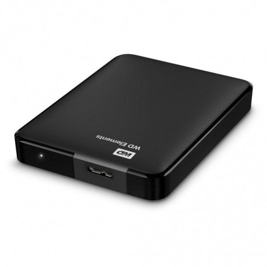 """Внешний жесткий диск 2.5"""" 500GB WD (WDBUZG5000ABK-WESN) изображение 4"""