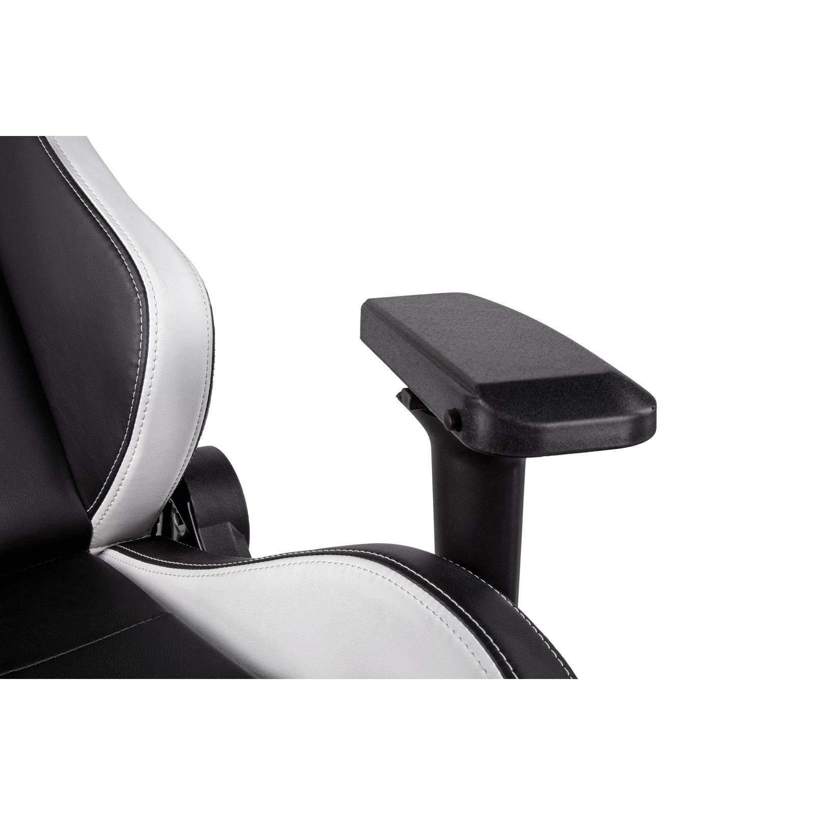Крісло ігрове 2E GC24 Black/White (2E-GC24BLW) зображення 5