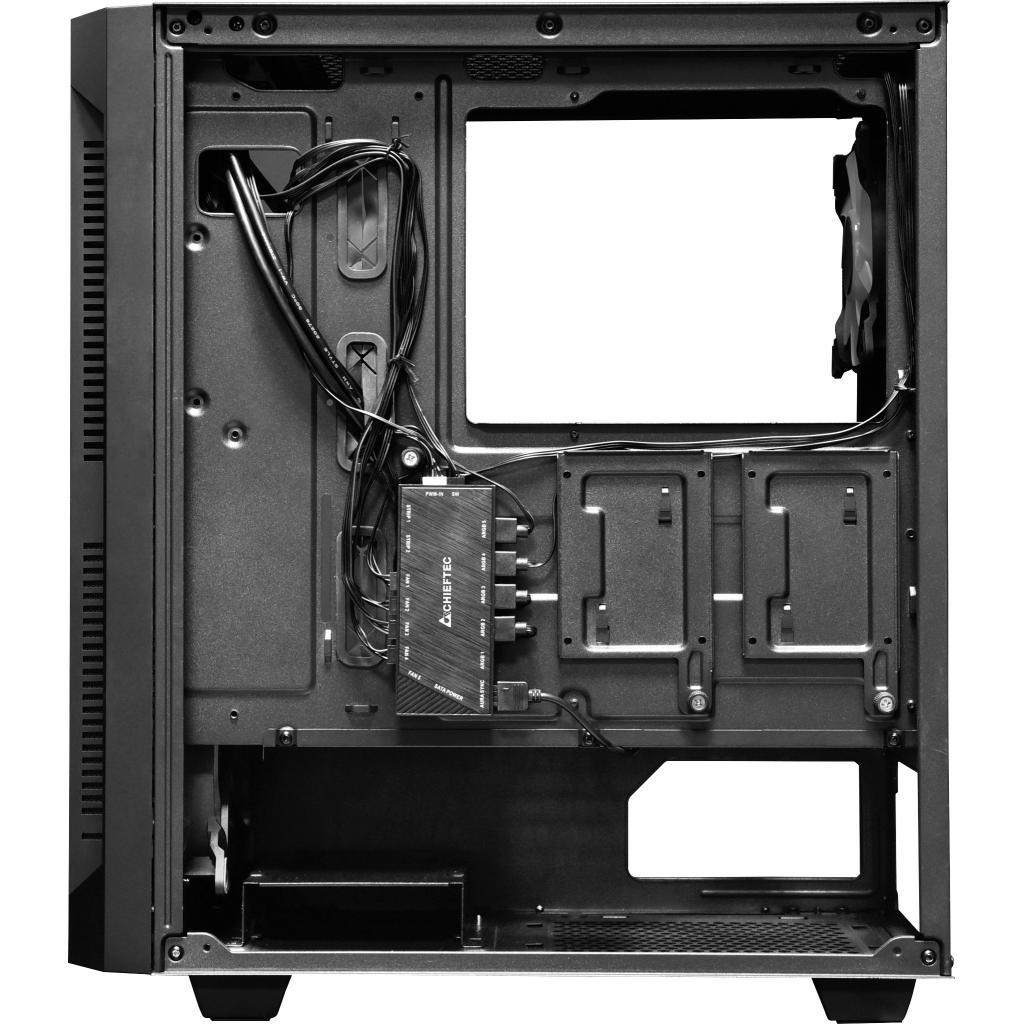 Корпус CHIEFTEC Gaming Hunter Tempered Glass Edition (GS-01B-OP) зображення 6