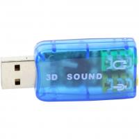 Звуковая плата Dynamode USB 6(5.1) blue (USB-SOUNDCARD2.0 blue)