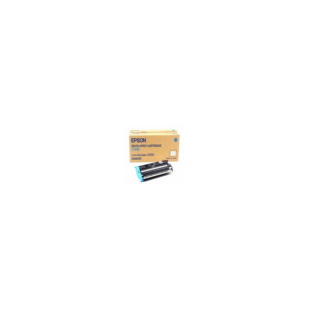 Картридж EPSON AcuLaser C1000/C2000 cyan (C13S050036)