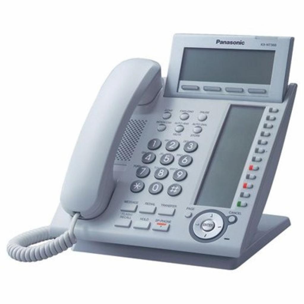 IP телефон PANASONIC KX-NT366RU