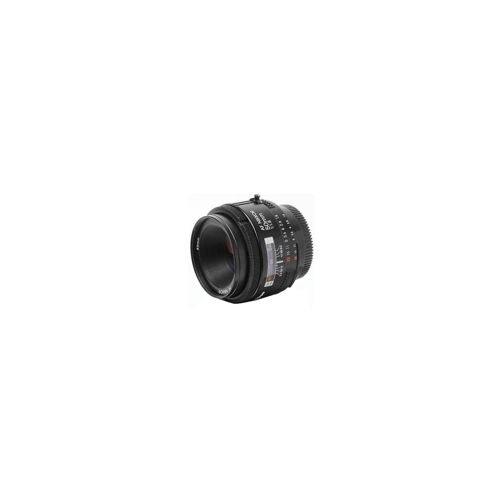 Объектив Nikkor AF 50mm f/1.8D Nikon (JAA013DA) изображение 2