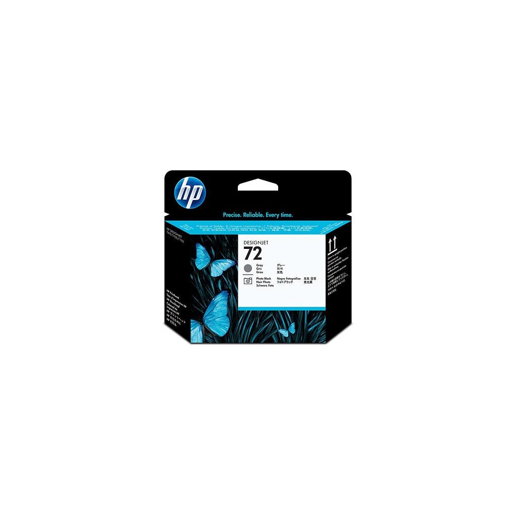 Печатающая головка HP No.72 DesignjT610 Grey, Photo black (C9380A)