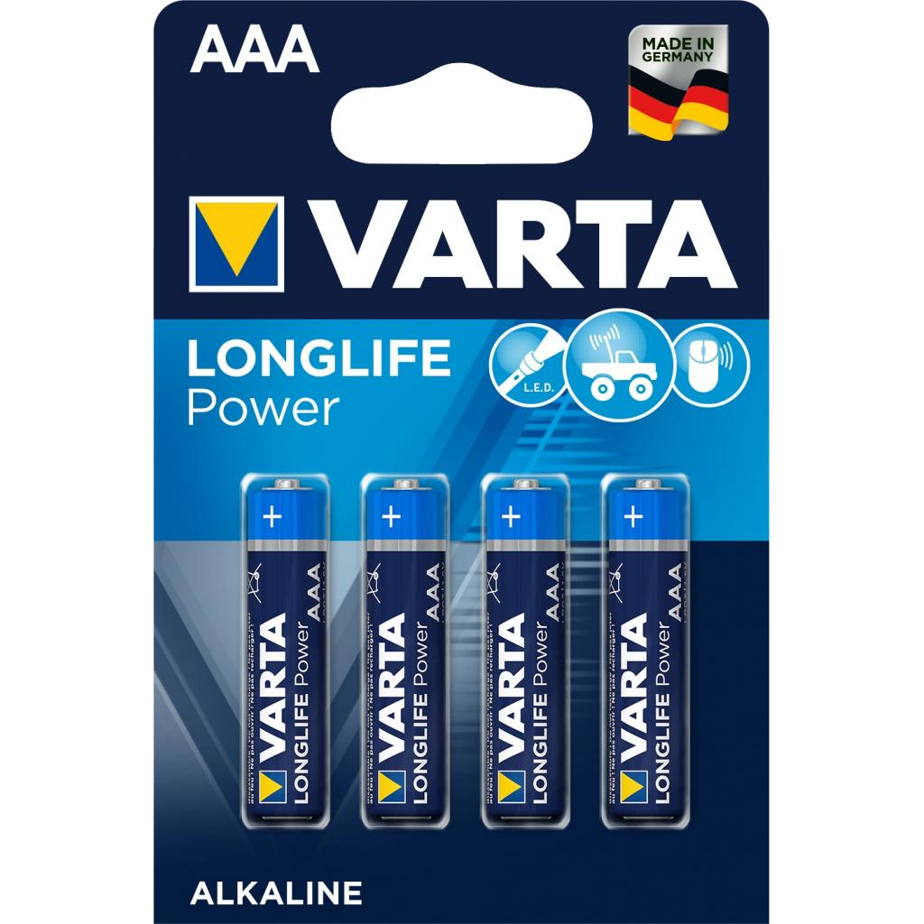 Батарейка Varta AAA Varta High Energy * 4 (04903121414)