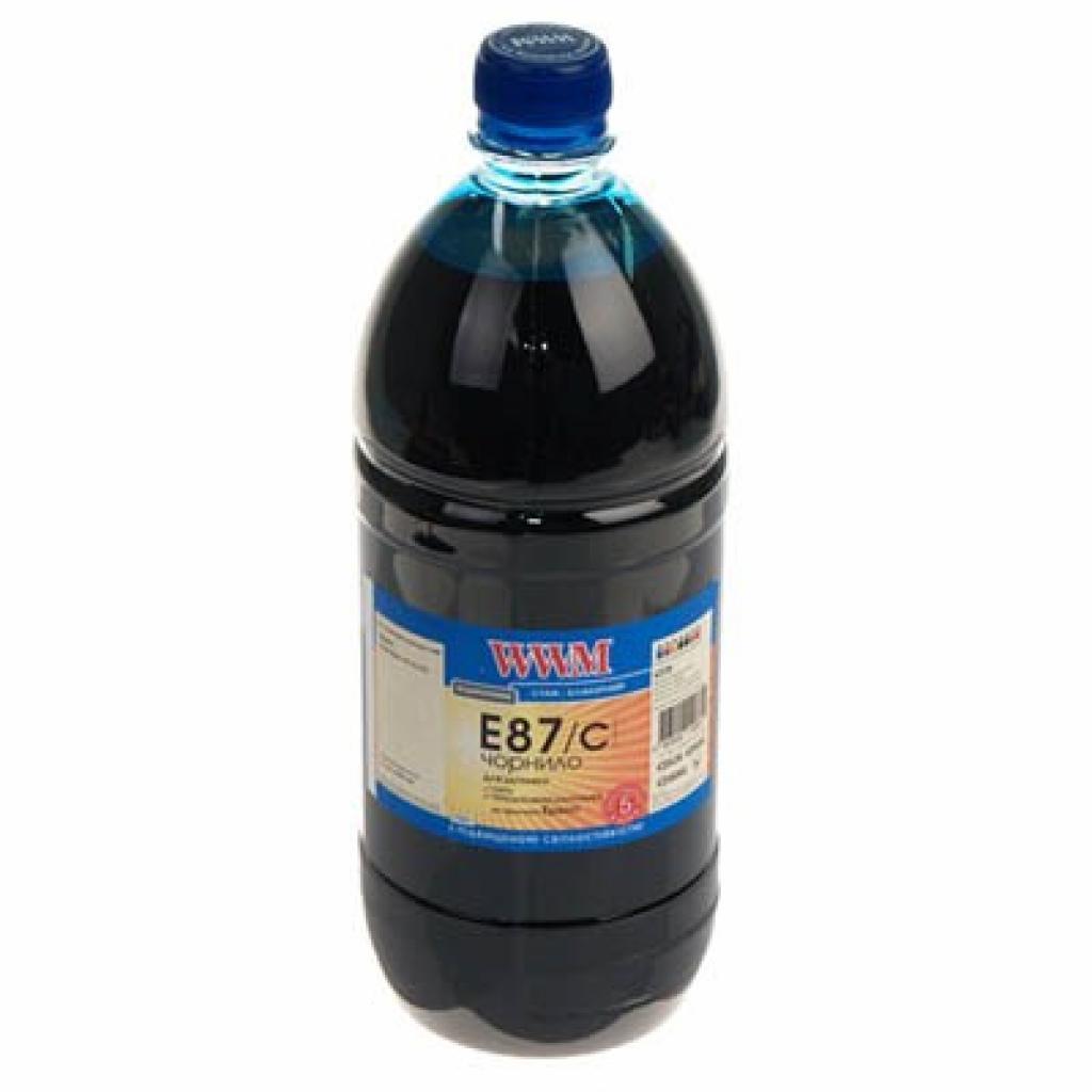 Чернила WWM EPSON R1900/R2000 (Cyan) (E87/C-3)