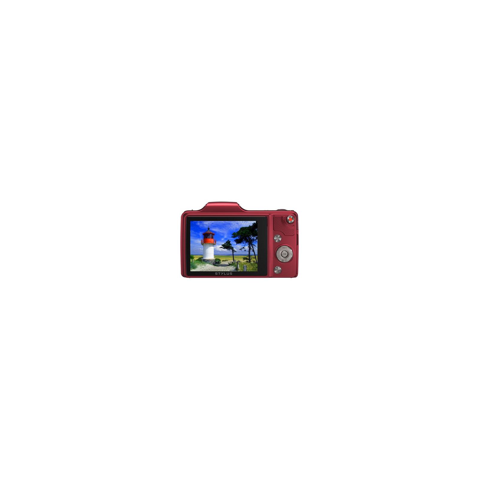 Цифровой фотоаппарат OLYMPUS SZ-15 red (V102110RE000) изображение 2