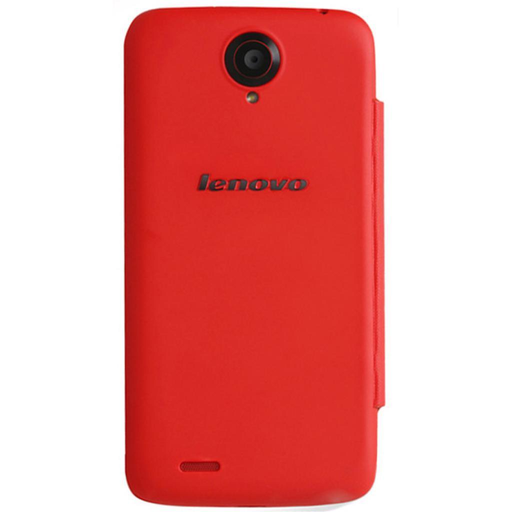 Чехол для моб. телефона Lenovo S820 SMART FILP COVER RED (PG39A4658M) изображение 3