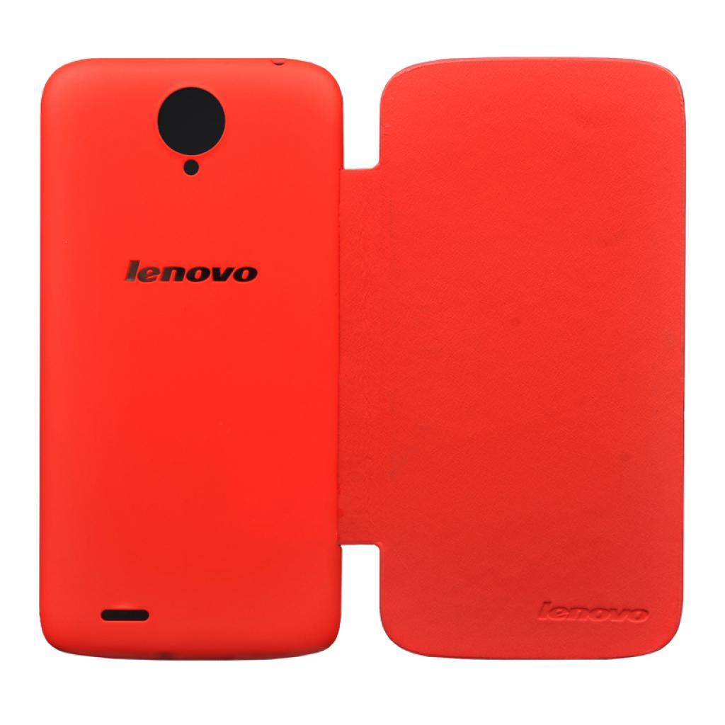 Чехол для моб. телефона Lenovo S820 SMART FILP COVER RED (PG39A4658M)