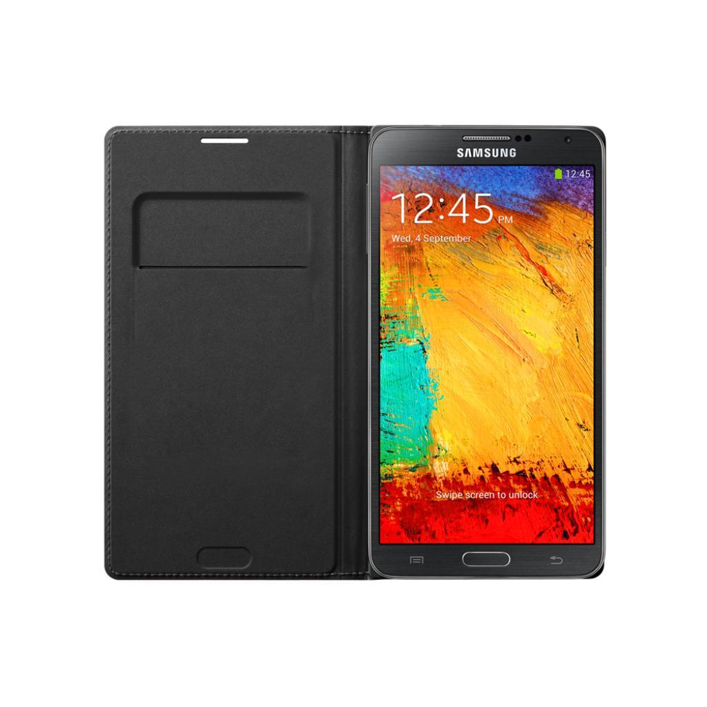 Чехол для моб. телефона Samsung N9000 Galaxy Note 3/Black/Flip Wallet (EF-WN900BBEGRU) изображение 3