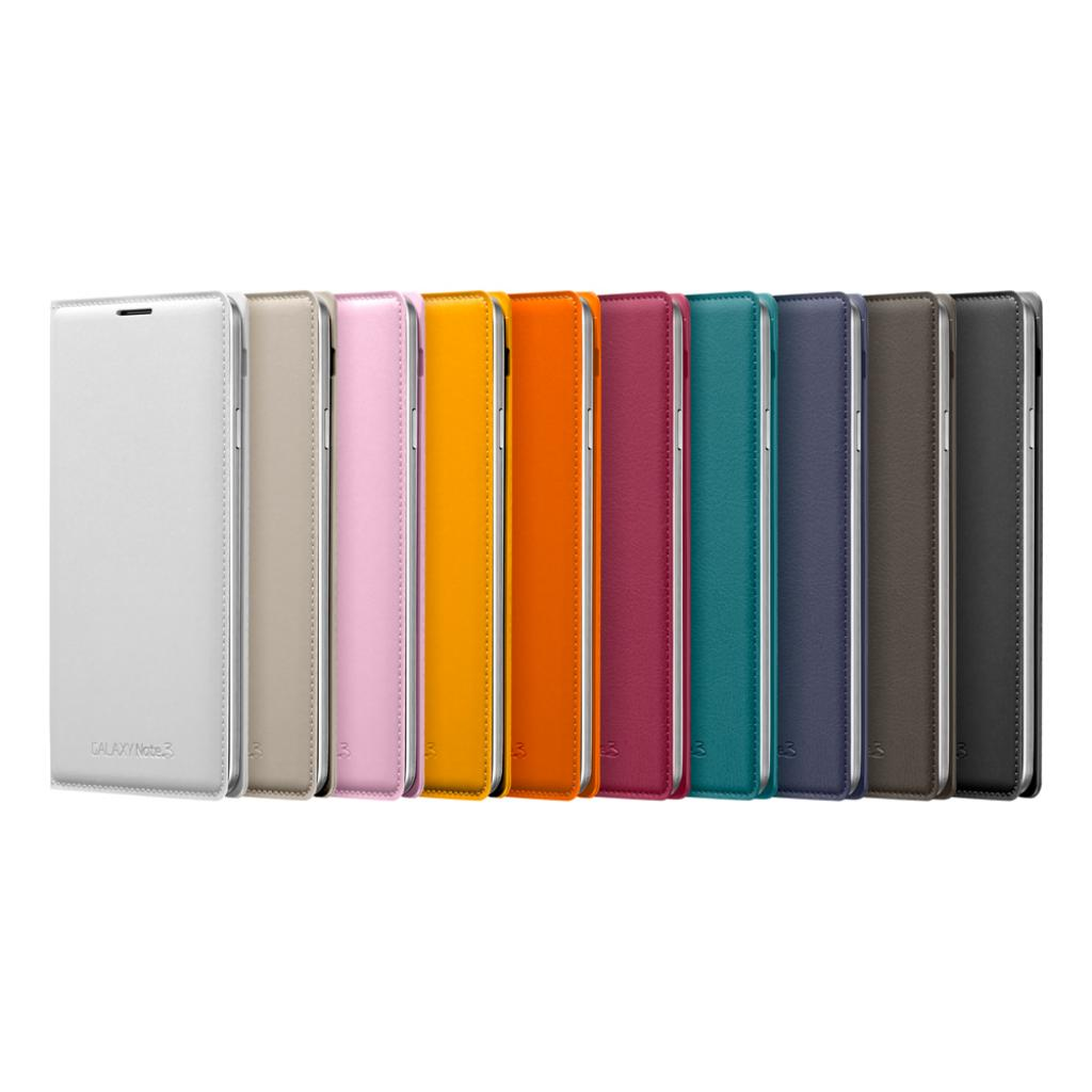 Чехол для моб. телефона Samsung N9000 Galaxy Note 3/Black/Flip Wallet (EF-WN900BBEGRU) изображение 6