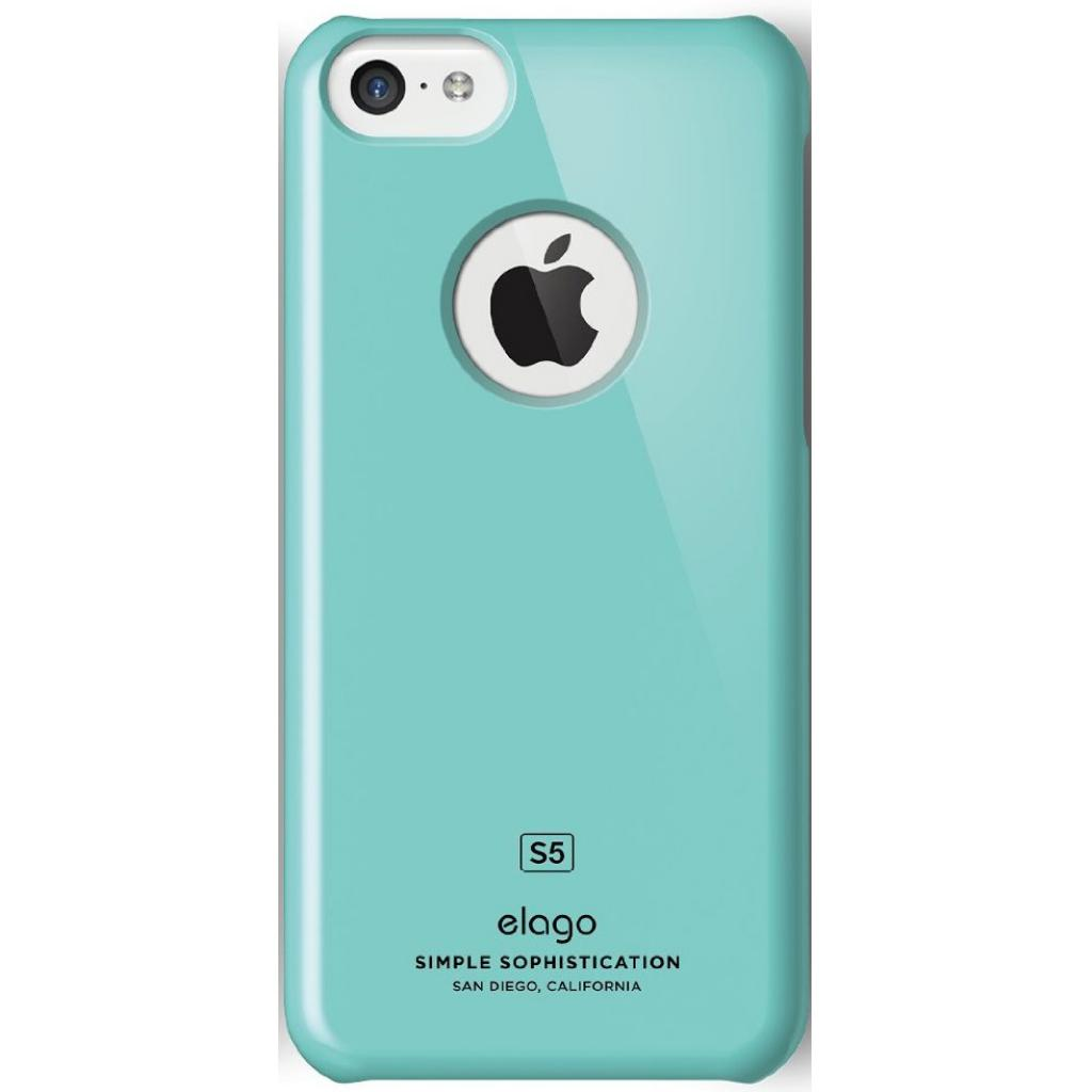 Чехол для моб. телефона ELAGO для iPhone 5C /Slim Fit/Coral Blue (ES5CSM-CBL-RT) изображение 3