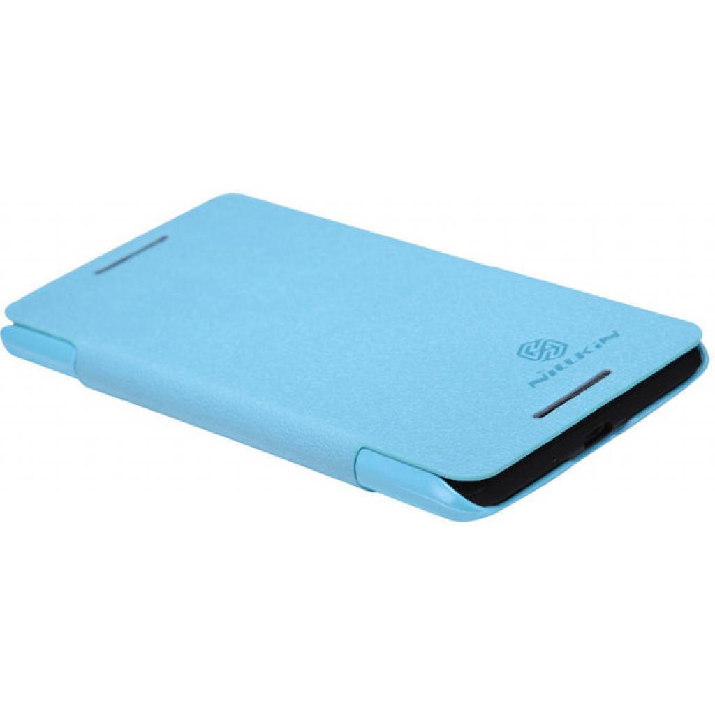 Чехол для моб. телефона NILLKIN для HTC Desire 600 /Fresh/ Leather/Blue (6088698) изображение 2